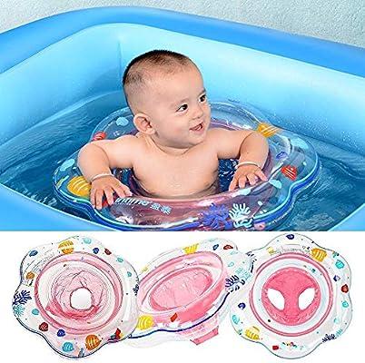 FYFY Flotador para Bebé con Asiento Inflable Bebé Asiento ...