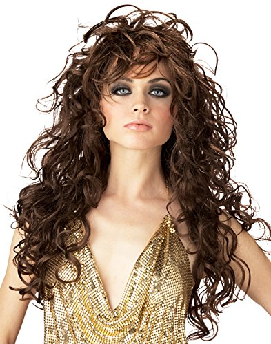 [California Costumes Women's Seduction Wig,Brown,One Size] (Seduction Wig)