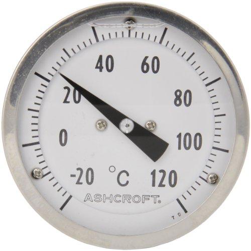 Dial Temperature Range (Ashcroft EL Series Bimetal Thermometer, 3