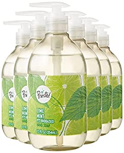 Presto! Biobased Hand Soap, Lime Mint Scent (6 pack)