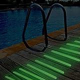 Basenor Non-Slip Safety Shower Treads, Glow in the
