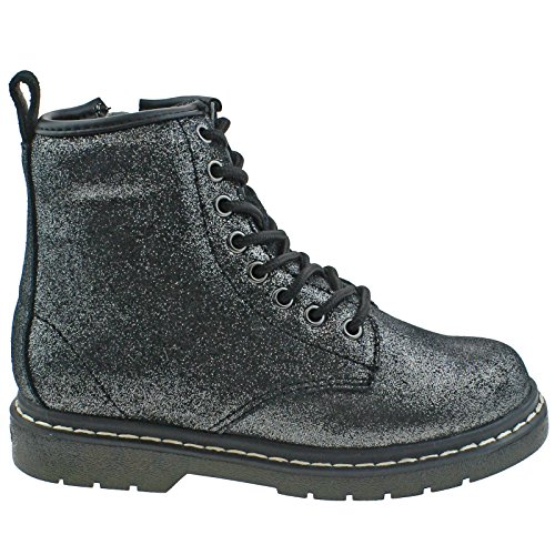Lelli Kelly LK7501 (GB01) Angie Glitter Nero Ankle Boots-30 (UK 12)