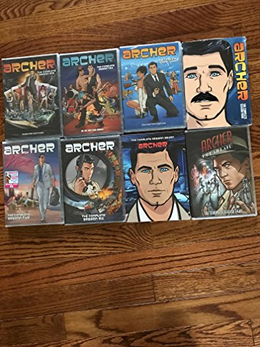 Archer Season 1-8 Bundle (Archer Tv Series Dvd)