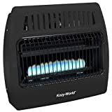 World MKTG of America/Import Comfort Glow Utility Gas Wall Heater, Black