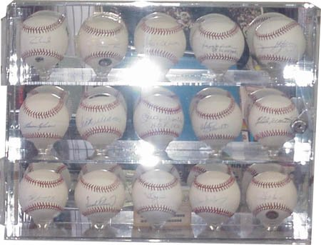 Official 15 Baseball Display Case-17x13 by MLB