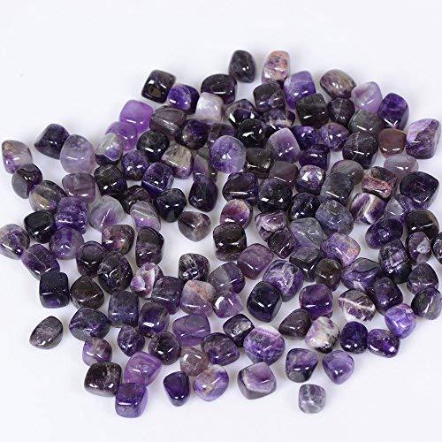 Yuanxi Bulk Gravel Large Natural Tumbled Polished Natural Stones 1/4 Ib for Meditation, Reiki, and Energy Crystal Healing -