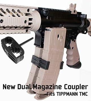 Tippmann Dual Magazin Koppler Tmc Cal 68 Magazine Amazon De Sport