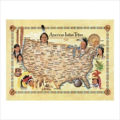 American Indian Tribes - 500 Piece Puzzle - From the Oil Painting by Artist Bill Stroble ()