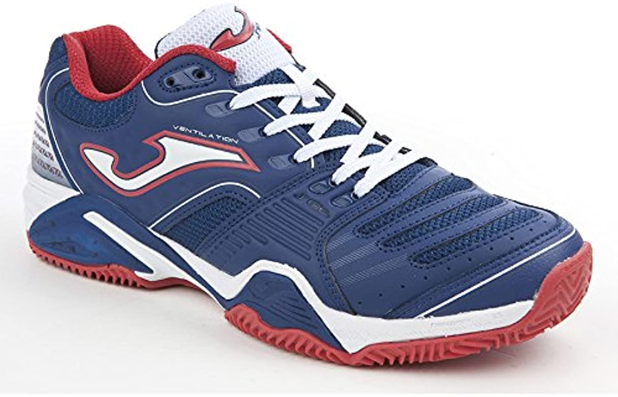 Zapatilla Joma Padel Set Clay Navy-Red Talla 42 EUR: Amazon.es ...