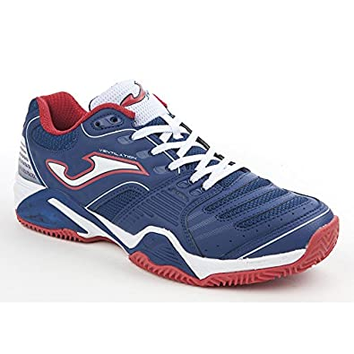 Zapatilla Joma Padel Set Clay Navy-Red Talla 42 EUR: Amazon ...