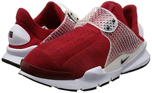 Running Shoe Dart Black Sock Red Men's Gym White NIKE qWIStt