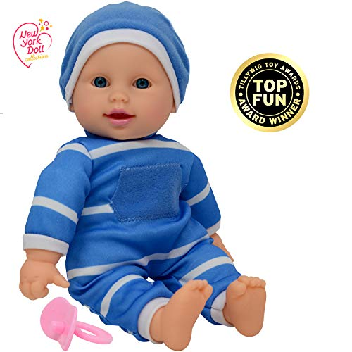 "11 inch Soft Body Doll in Gift Box - 11"" Baby Doll (Boy)"