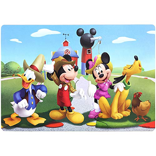 ZCF Ying Xu Disney Puzzles 60 Piece Jigsaw Puzzle for Kids 4-8 for Children Learning Educational Puzzles Toys (Mickey Mouse) ()