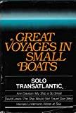 img - for Great Voyages in Small Boats book / textbook / text book