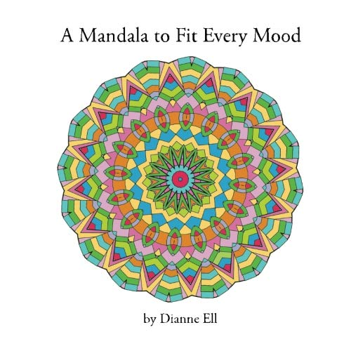 Read Online A Mandala to Fit Every Mood: An Adult Coloring Book ebook