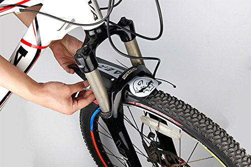 ProRuck Bike Mud Guard Mountain Bike Fender Mudguard for Front and Rear MTB Mudguard