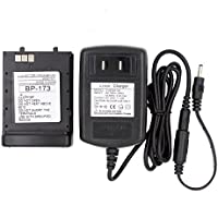 AOER® 2000mAh Replacement Lithium-Ion Battery & Charge Combo For ICOM Radio IC-T22A IC-T22E IC-T42 IC-T42A IC-T42E