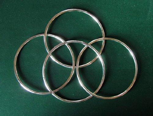 Mini anelli cinesi (per 4) - Gioco di Magia Di Fatta