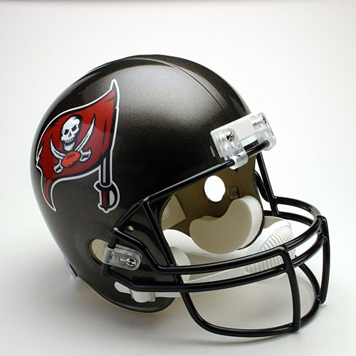 Tampa Bay Bucs 1997-2013 Throwback Riddell Full Size Deluxe Replica Football Helmet