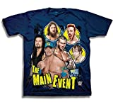 John Cena Roman Reigns Sheamus Blue Kids WWE T-shirt Boys-YS