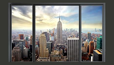 Top Tapeten Wandbild Wandtapete Vlies Fototapete 250x175 cm Fototapeten Bild Tapete Wandbilder XXL New York 10110904-12 Wand