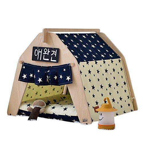 Large Tent With Tip For Dog Or Pet, Removable And Washable, With Mattress