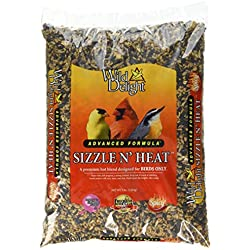 Wild Delight 372050 Sizzle N' Heat Bird Food, 5 lb