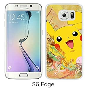 Pokemon Popular Cute and Funny Pikachu 04 White Case with Fashion and Luxurious Design For Case Samsung Note 4 Cover