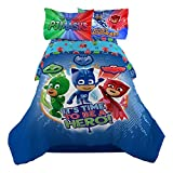PJ Masks Twin Comforter with Pillow Sham