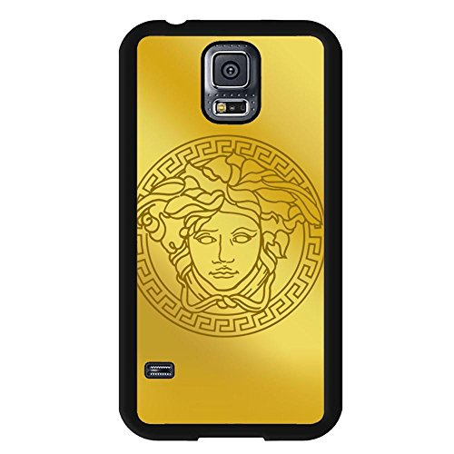 Versace logo Phone Case Cover for jor82 Samsung Galaxy S5 Hard - Material Sale Versace