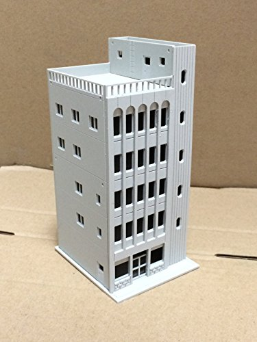 Outland Models Railway Modern 5-Story Commercial Building Unpainted N Scale