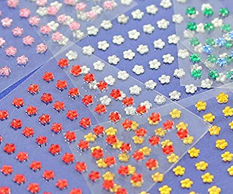 5 Sheets 250PCS KraftGenius Allstarco 10mm Amber LQ32 Butterfly Self Adhesive Acrylic Rhinestones Plastic Face Gems Stick On Body Jewels for DIY Cards and Invitations Crafts Bling Sticker