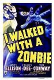 I Walked With a Zombie Movie Poster (27 x 40 Inches - 69cm x 102cm) (1943) -(Frances Dee)(Tom Conway)(James Ellison)(Christine Gordon)(Edith Barrett)(Darby Jones)