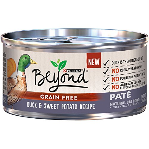 Purina Beyond Pate Grain Free Duck & Sweet Potato Recipe (12 Pack), 3 oz