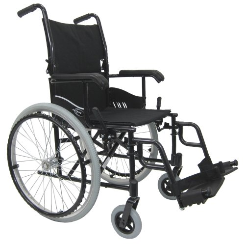 Karman 24 pounds LT-980 Ultra Lightweight Wheelchair Black ()