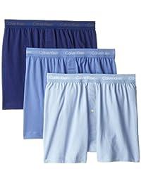 Calvin Klein Men's 3-Pack Cotton Classic Knit Boxer