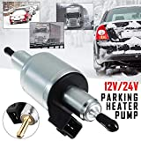 Cheng-store 12V/24V Electric Heater Oil Fuel Pump