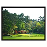 Augusta Golf Course Photo Canvas Print Picture Frame Home Decor Wall Art Decoration Gift Ideas 28''x37''