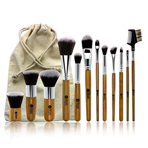 bamboo hair brush set - 8