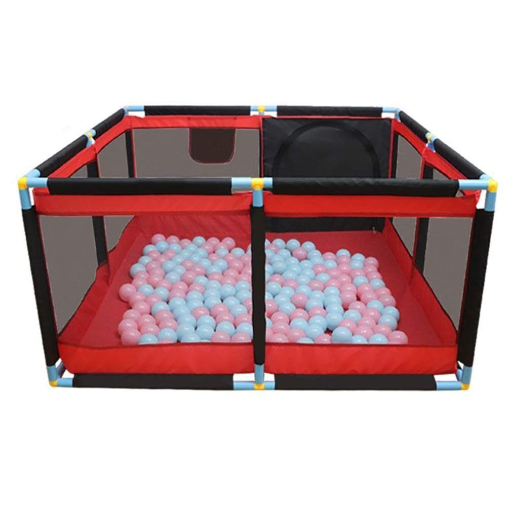 PNFP ベビーサークルの柵可搬性のある無料のインストール安全赤ちゃんの子供のゲーム幼児の柵子供の安全柵   B07TZXTMHW