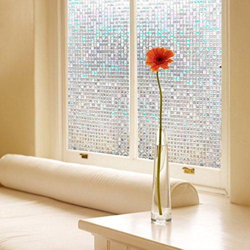 new-lifetree-vinyl-mini-mosaic-non-adhesive-frosted-privacy-window-film-decorative-window-glass-film