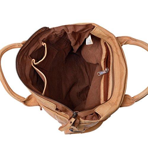 DuDu 580-1080-03, Borsa a spalla donna Marrone marrone compact