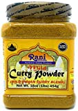 Rani Curry Powder Mild Natural 10-Spice Blend 1lb (16oz) ~ Salt Free | Vegan | No Colors | Gluten Free Ingredients | NON-GMO