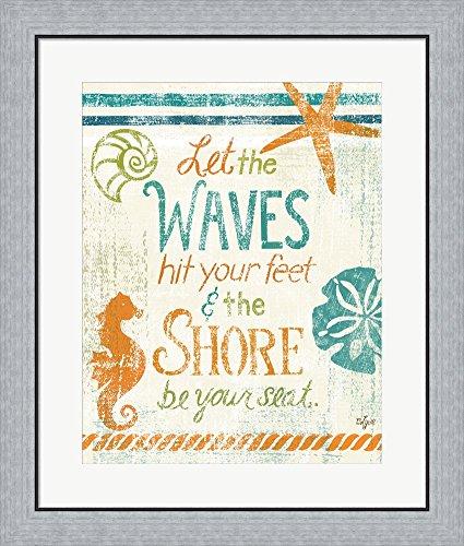Amazon.com: Coastal Sentiment II by Rebecca Lyon Framed Art Print ...