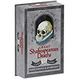Great Shakespearean Deaths Card Game (William Shakespeare Game, Funny Shakespeare Gifts, Gifts for English Professors)