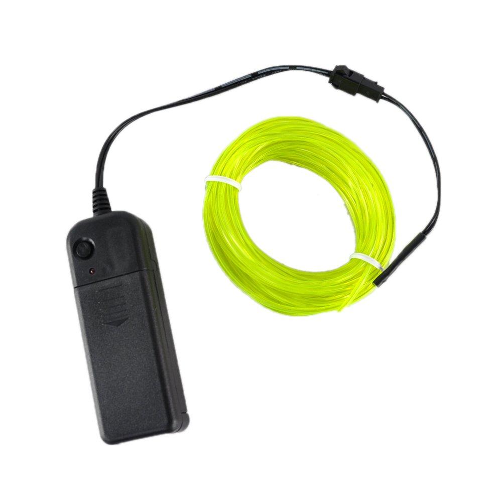 Amazon.com: lychee Neon Glowing Strobing Electroluminescent Light El ...