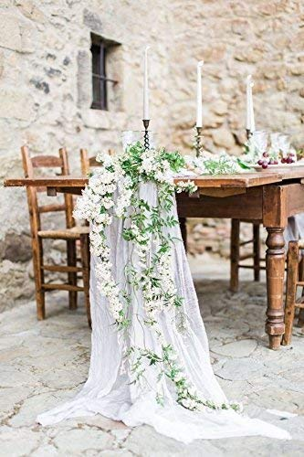 Amazon.com: Table runner Wedding Table Decor Cheesecloth Cheese ...