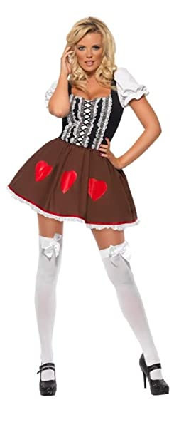Smiffys - Disfraz de Heidi para mujer, talla M (38728M): Amazon ...