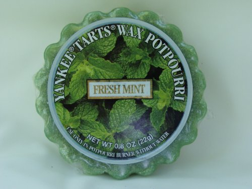 Ret Mint (Yankee Candle Wax Potpourri Tart, Fresh Mint)
