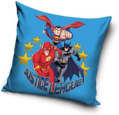 Funda para cojín Liga de la justicia – Batman, Superman, Flash ...